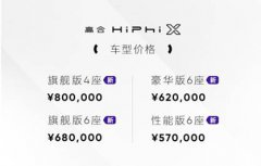 高合汽车发布1000公里电池包升能服务及HiPhi X四车型