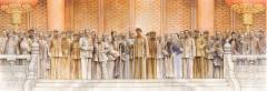 在艺术大家赵建成的巨作里,聆听历史故事,致敬百年风